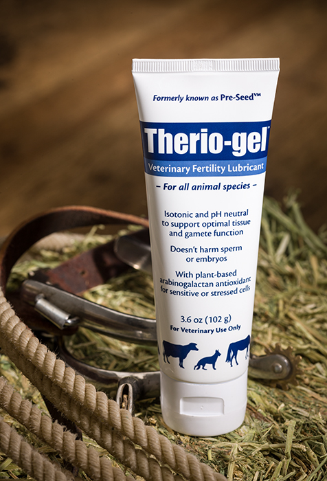 Veterinary lubricant for horse breeding and dog breeding